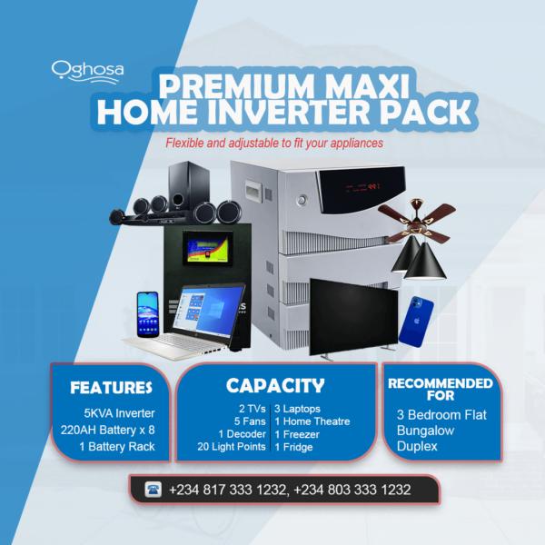 Premium Maxi Home Inverter