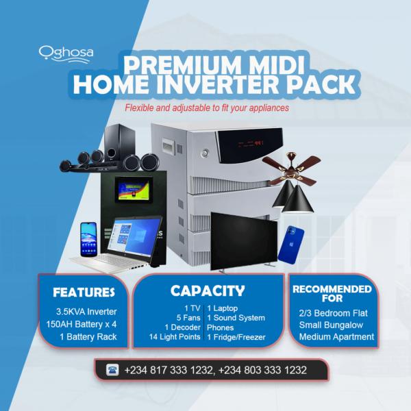 Premium Midi Home Inverter