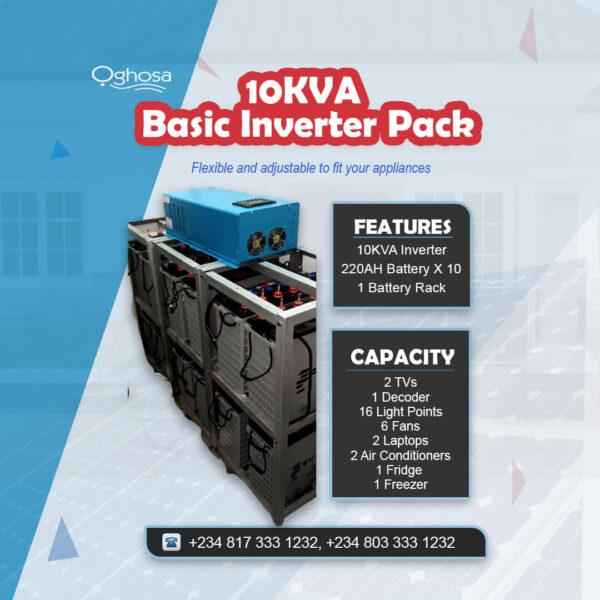 10KVA Basic Inverter Pack