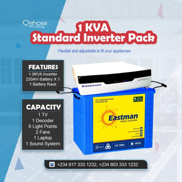 1KVA Standard Inverter Pack
