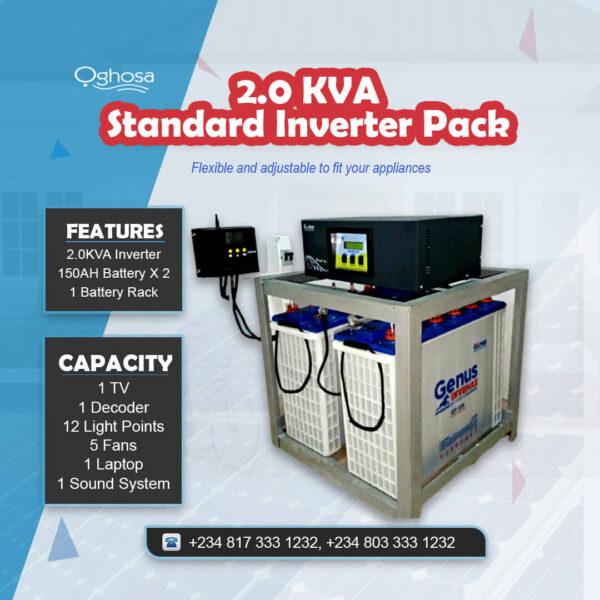 2.0 KVA Standard Inverter Pack