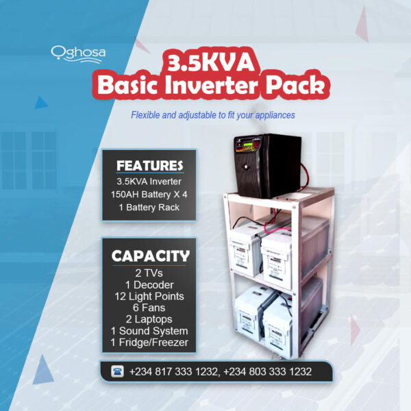 3.5 KVA Basic Inverter Pack