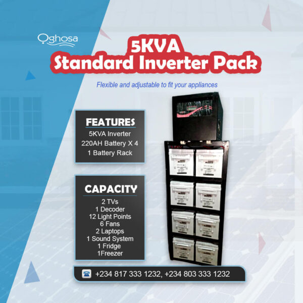 5 KVA Standard Inverter Pack