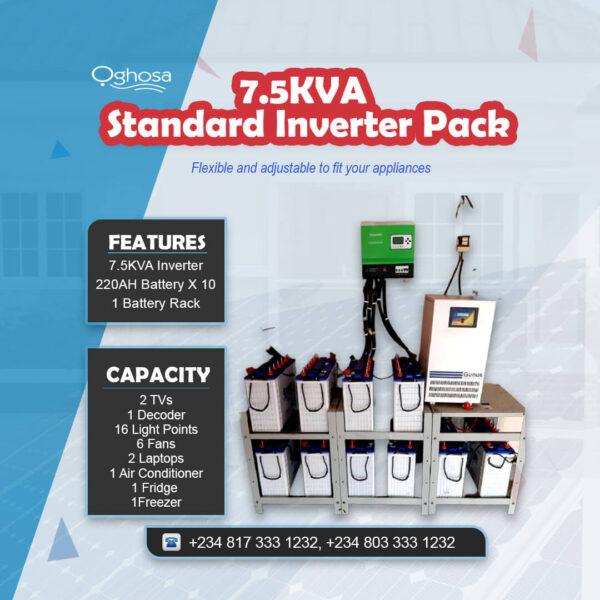 7.5 KVA Standard Inverter Pack