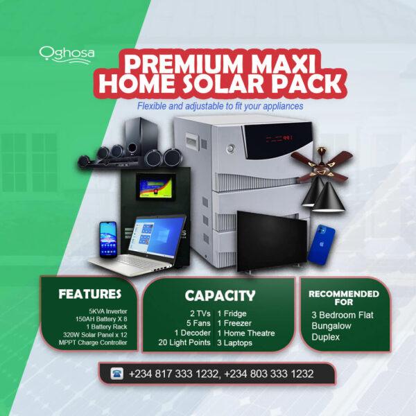 Premium Maxi Home Solar
