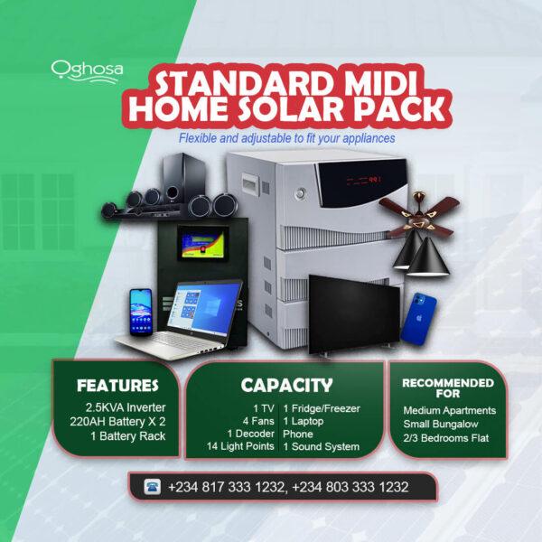 Standard Midi Home Solar Pack